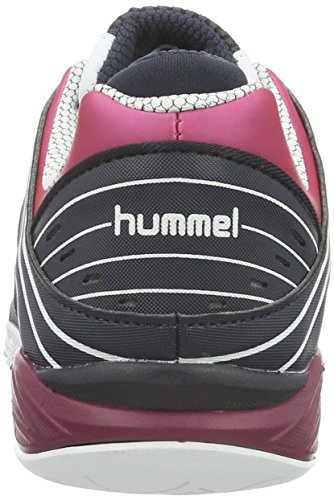 Hummel Omnicourt Z6 Ws, Scarpe Sportive Indoor Donna Rosa (Sangria)