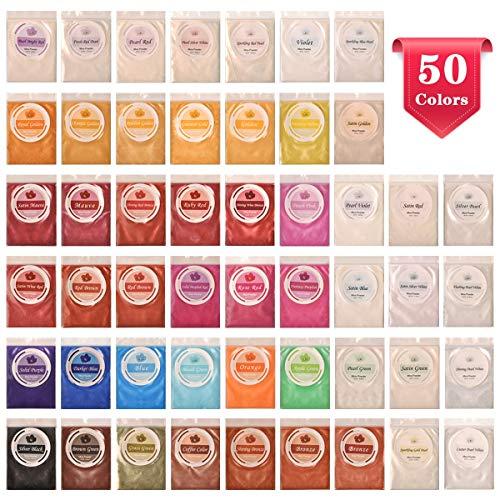 Mica Powder Pigmente Pulver f/ür Seife Epoxy Sixcup Epoxidharz Farbe,Metallic 27 Farben //10 g Farbpigmente Seifenfarbe Set Farbpigment Pulver Glimmer,Mica Pigment