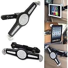 Soporte Tablet Coche,InnoMagi Universal 360 grados Ajustable Soporte de Asiento Trasero Soporte de Coche para Reposacabezas para 7 - 11 Pulgadas Tablet PC (Apple iPad Air/iPad mini/iPad Pro, Galaxy Tab E 9.6/Tab A 9.7 y más), Negro