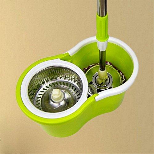 Spin MOP mop umido driver doppio lato disidratazione automaticamente senza