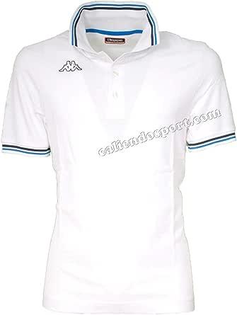 Kappa - Polo Uomo T-Shirt Piquet Mare Sport Tennis Barca Calcio Art Maltax 5 Mss