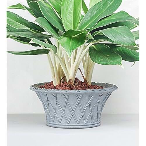 figuras kawaii porcelana fria YANZHEN Europea de bambú estilo cesta de flores ollas Jardinería de agua fría porcelana personalizada decoración del hogar