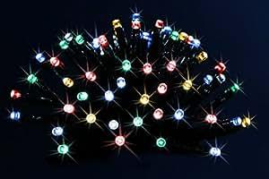 Guirlande lumineuse 160 lampes LED Multicolore sur 6,40 mètres d'éclairage et 8 jeux de lumière