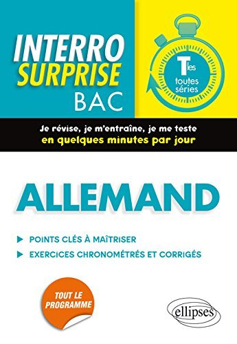 Allemand Terminales Toutes Séries by Pascal Curin (2016-07-12)