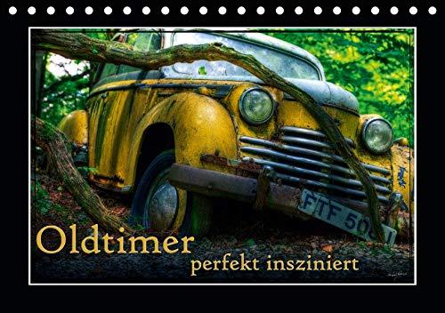 Oldtimer perfekt insziniert (Tischkalender 2020 DIN A5 quer): Bilder verschiedener, teils ausgedienter Oldtimer (Monatskalender, 14 Seiten ) (CALVENDO Mobilitaet) - Ford-lkw-bilder