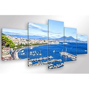 Canvashop Quadri Moderni Soggiorno cm 120x60 Golfo di ...