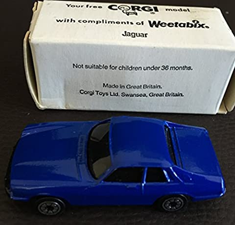 Vintage 1989 Corgi Die-Cast Weetabix Mail Away Promotional Model Jaguar XJ-S Series Brand New In The Original Box - Shop Stock Room Find