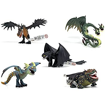 Dreamworks how to train your dragon all 5 dragons amazon dreamworks how to train your dragon all 5 dragons ccuart Image collections