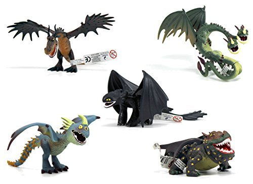 How to train your dragon - 5 DRAGONS
