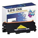 LIFE INK XXL Toner 10.000 Seiten ersetzt Brother TN-2320, TN-2310 für Brother DCP-L2500, DCP-L2520, DCP-L2540, DCP-L2560, DCP-L 2700, HL-L2300, HL-L2320 HL-L2340, HL-L2360, HL-L2365, HL-L2380, MFC-L2700, MFC-L2720, MFC-L2740 schwarz