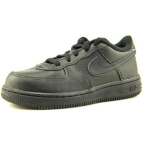 Nike Force 1 (TD), Baskets Basses Mixte Bébé, Noir-Black (Black