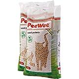 PeeWee Houtkorrels Kattenbak vulling 2x9kg (28L)