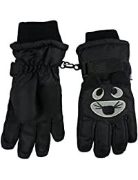 N 'Ice Caps Kids Cute Animal caras frío Thinsulate–Guantes impermeables