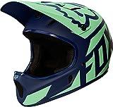 Fox Herren Rampage Race Helm, Navy/Light Blue, L
