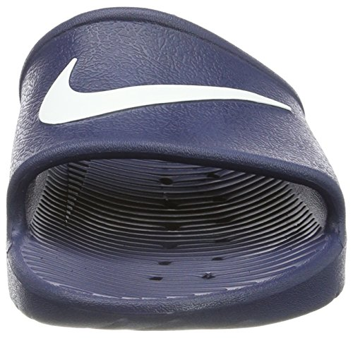 Nike Kawa Shower, Chaussures de Plage et Piscine Homme Bleu (Bleu Nuit Marine/Blanc)