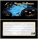Einladungskarten zu Halloween Grusel-Party HalloweenParty Blanko leer zum selbst beschriften Einladung Erwachsene Kinderrgeburtstag Geburtstag gruselig Karten 12 Karten