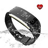 Cardiofrequenzimetro fitness tracker Kybeco Activity Tracker elegante Impermeabile Wearable fitness...