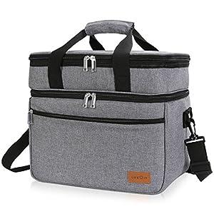 Lifewit 23L Kühltasche Gross Lunchtasche Isoliert mit Abnehm- und Verstellbarer Schulterriemen für Aufbewahrung von…