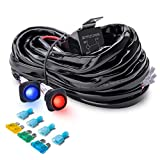 MICTUNING [Exclusive] 12ft Dual Waterproof Switches Wiring...