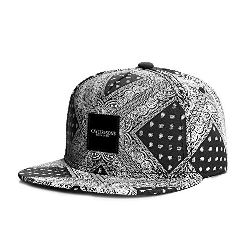 Cayler And Sons - Casquette Snapback Homme Paiz Cap - Black/White