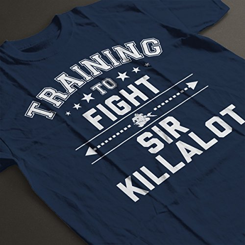 ... Robot Wars Training To Fight Sir Killalot Women's T-Shirt Navy Blue ...