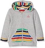 United Colors of Benetton Unisex Baby Jacke Jacket W/Hood L/S, Grau (Gray Melange 85b), 62