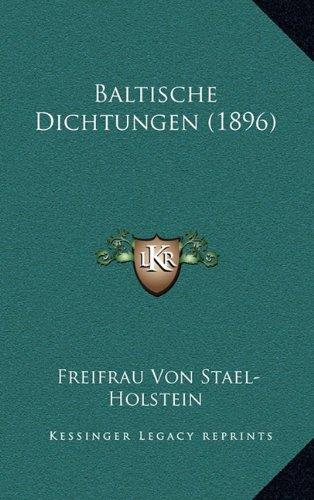 Baltische Dichtungen (1896)