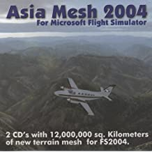 Image of Asia Mesh 2004 Vol 1 Microsoft Flight Sim 2004 Expansion Pack CD ROM New and Sealed - Comparsion Tool