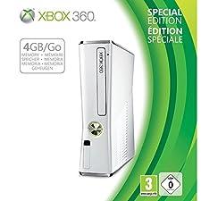 Console Xbox 360 4 Go blanche + manette sans fil - édition spéciale