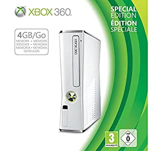 Xbox 360 4 GB White Limited Edition
