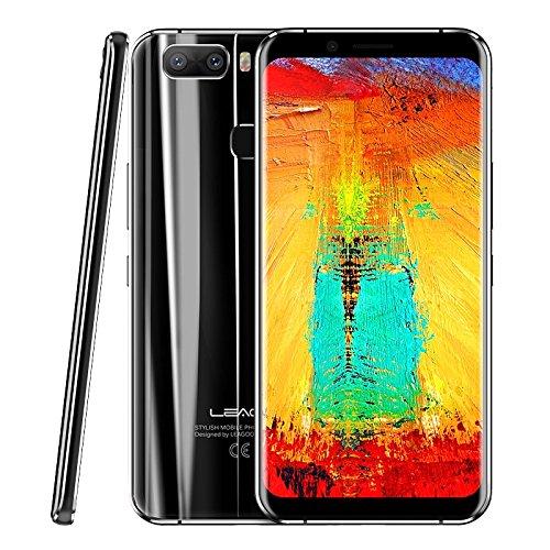 Phone Entsperrt 3g Lg (leagoo S8Pro Entsperrtes Smartphone 6GB + 64GB 15,2cm Dual Gebogene Kante leagoo OS 4.0(Android 7.0) MTK Heliotrop P25Octa Core bis zu 2,6Ghz WCDMA & GSM & FDD-LTE)