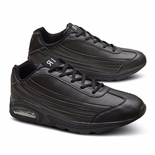 Xelay ,  Herren Sneaker Low-Tops Schwarz