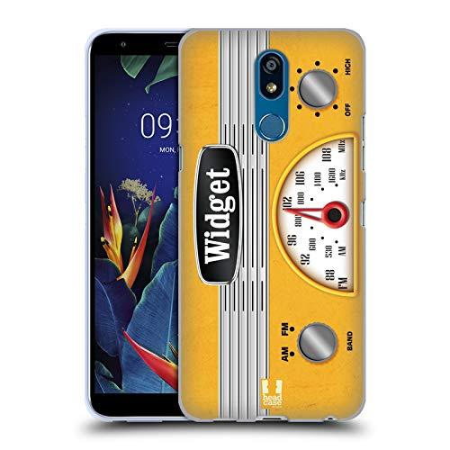 Head Case Designs Widget Vintage Radio Telefon Soft Gel Huelle kompatibel mit LG K40 / K12 Plus K40 Radio