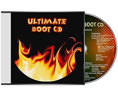 Ultimate Boot CD / logiciel d'assistance et d'aide urgente pour les systèmes d'exploitation Windows 10 / 8 / 7 / Vista / XP (32 & 64 Bit) [outils de diagnostic et de réparation du système] de UTS - Logiciels