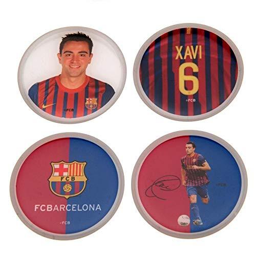 FC Barcelona Xavi 3D Stickers (4 Stck) (Einheitsgrße) (Bunt)