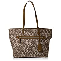 DKNY Tote for Women- Brown, R84AF591