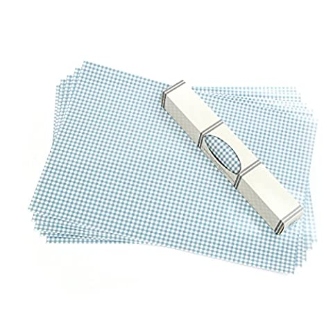 Gingham WIPE CLEAN Drawer & Shelf liners. Made in Suffolk,