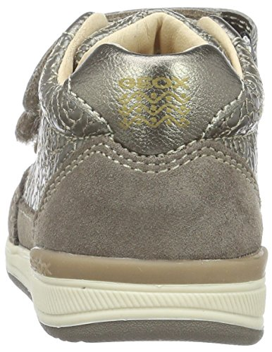 Geox B Rishon A, Chaussures Marche Bébé Fille Beige (smoke GREYC9006)