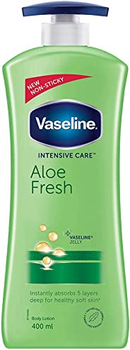 Vaseline Intensive Care Aloe Fresh Body Lotion, 400 ml