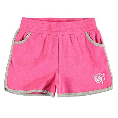 ocean-pacific-madchen-shorts-sporthose-kurz-trainingshose-kinder-freizeit-sport-pink-146-152