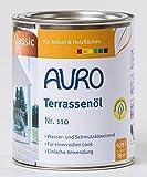 AURO Terrassenöl Classic Nr. 110-85 Bangkirai, 0,75 Liter