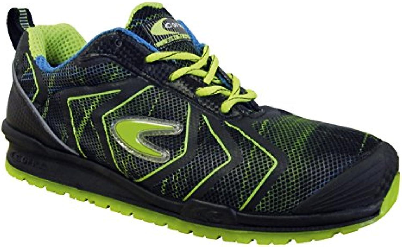 Cofra zapatos de seguridad (Driscoll S1P Negro/Verde neón, tamaño 43