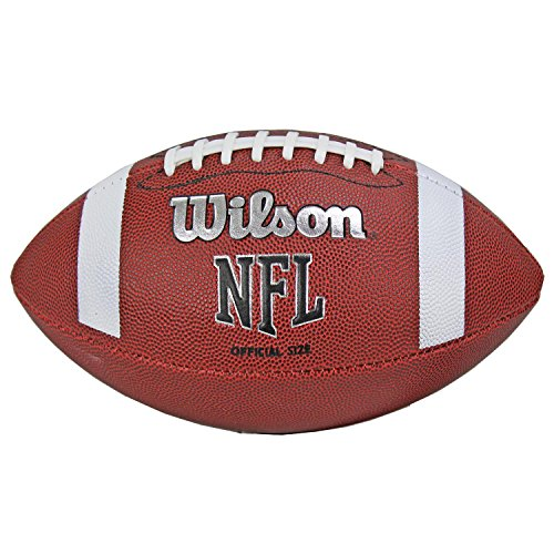 Wilson - NFL Bin Ball Official, color brown