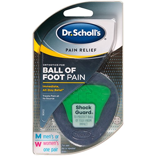 Preisvergleich Produktbild Dr. Scholl's P.R.O. Pain Relief Orthotics for Ball of Foot
