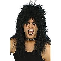 Cheveux ondulés ROCK STAR années 80 PUNK métal COUPE MULET couleurs mélangées