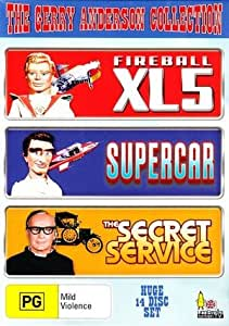 The Gerry Anderson Collection - 14-DVD Box Set ( Fireball XL5 / Supercar / The Secret Service ) [ Origine Australien, Sans Langue Francaise ]
