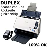 Dokumentenscanner Avision AV186+ Duplex Scanner Einzugscanner bis 30 Seiten/min DIN A4