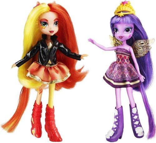 My Little Pony - Twilight Sparkle e Sunset Shimmer