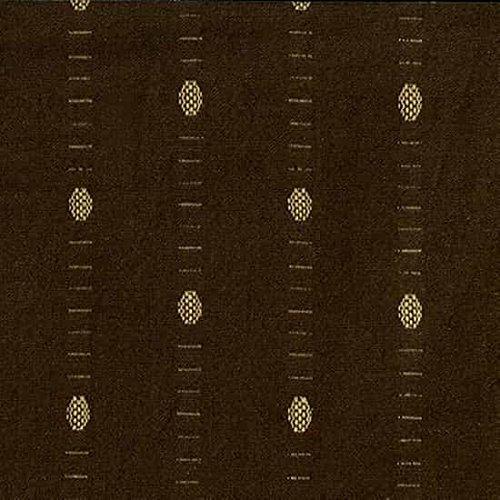 Baumwolle Stoff-Meter-blanko-Intermix Baumwolle Dobby-DOT braun - Dobby Dot