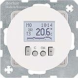 Hager 20452089–Thermostat Kontakt Kontakt geöffnet R1/R3Timer weiß Polar Glanz